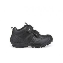 Zapatilla Geox J.SAVAGE.G Black Junior Scarpe-Uniforme