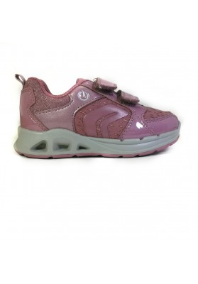Deportiva GEOX con Luces Rosa